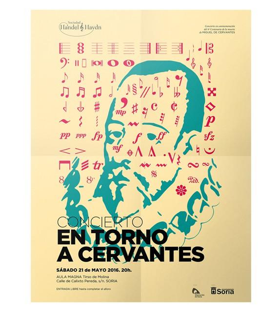 """Imagen gráfica para Concierto """"En torno a Cervantes"""""""