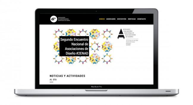 Diseño web para DIS