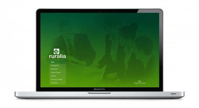 Diseño Website Ruralia Holding